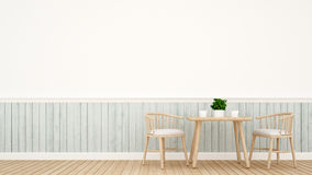 Dining set modern classic design. For artwork and background Royalty Free Stock Image