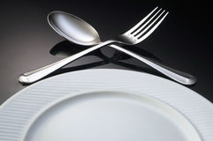 Dining setting Royalty Free Stock Images