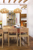 Dining space Stock Photography