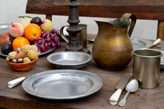 Dining Table Stock Image