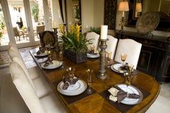 Dining table 1622 Stock Photos