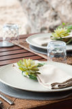 Dining table Royalty Free Stock Images