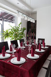 Dining table Royalty Free Stock Photos