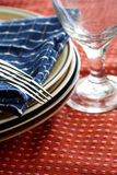 Dining table Royalty Free Stock Photography