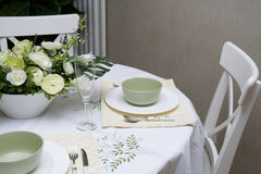 Dining table Stock Photos