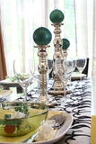 Dining Table Arrangement Stock Photography