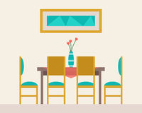 Dining table for date Royalty Free Stock Photography