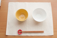 A dining table Royalty Free Stock Photography