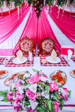 Elegant Dining Table Royalty Free Stock Image