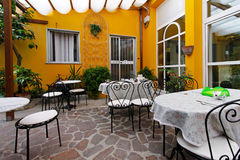 Dining terrace Royalty Free Stock Photo