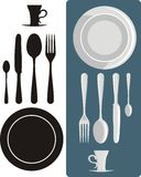 Dining utensils Royalty Free Stock Image