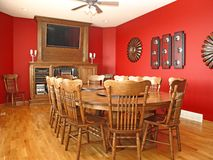 Diningroom. stock photo