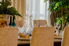 Dinining table Royalty Free Stock Image