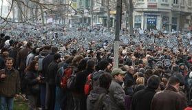 dink hrant Istanbul pomnik zdjęcie stock
