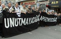 dink hrant Istanbul pomnik zdjęcia stock