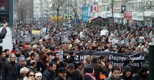 dink hrant Istanbul pomnik zdjęcia royalty free