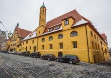 Dinkelsbühl, Bavaria, Germany - Medieval buildings Royalty Free Stock Images