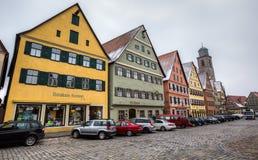 Dinkelsbühl, Bavaria, Germany - Street View Royalty Free Stock Photo