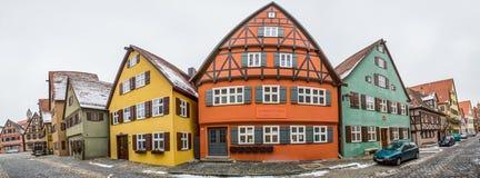 Dinkelsbühl, Bavaria, Germany - Street View II Stock Photo