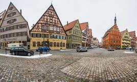 Dinkelsbühl, Bavaria, Germany - Street View V Royalty Free Stock Photography