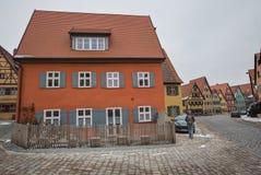 Dinkelsbühl, Bavaria, Germany - Medieval buildings Royalty Free Stock Photos