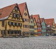 Dinkelsbühl, Bavaria, Germany - Street View VI Stock Images