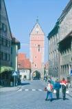 Dinkelsbühl, Bavaria, Germany - Street View Royalty Free Stock Images