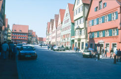 Dinkelsbühl, Bavaria, Germany - Street View Royalty Free Stock Photography