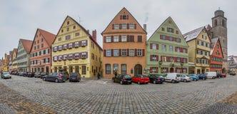 Dinkelsbühl, Bavaria, Germany - Street View III Royalty Free Stock Photo