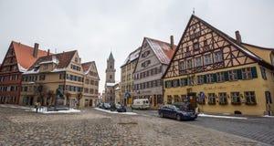 Dinkelsbühl, Bavaria, Germany - Street View II Stock Images