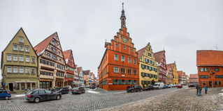 Dinkelsbühl, Bavaria, Germany - Street View IV Stock Image