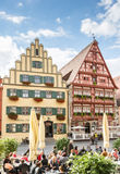 Dinkelsbuehl中世纪老镇  库存照片