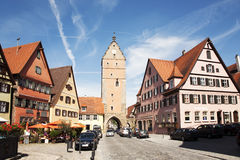 Romantic Dinkelsbühl, city of late middleages Stock Images