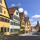 Dinkelsbuehl is an historic city in Bavaria, Germany Royalty Free Stock Photos