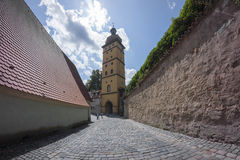 Dinkelsbuehl is an historic city in Bavaria, Germany Royalty Free Stock Images