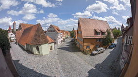 Dinkelsbuehl is an historic city in Bavaria, Germany Royalty Free Stock Image