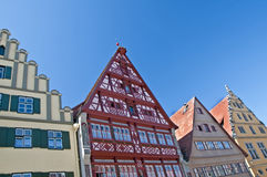 Dinkelsbuehl house facade Royalty Free Stock Photo