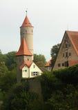 Dinkelsbuhl,巴伐利亚,德国 库存图片