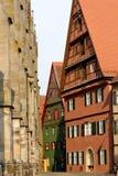 Dinkelsbuhl, Βαυαρία, Γερμανία Στοκ φωτογραφία με δικαίωμα ελεύθερης χρήσης