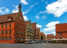 Dinkelsbuhl - Бавария - Германия Стоковое Изображение