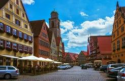 Dinkelsbuhl - Бавария - Германия Стоковые Фотографии RF