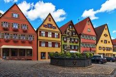Dinkelsbuhl - Бавария - Германия стоковые фото