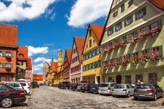 Dinkelsbuhl - Бавария - Германия стоковая фотография