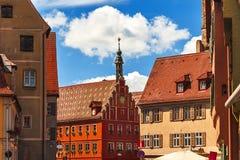 Dinkelsbuhl - Бавария - Германия стоковое фото