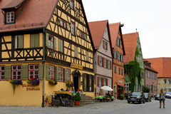 Dinkelsbuhl, Bavaria, Germany. Royalty Free Stock Photography