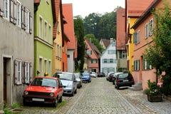 Dinkelsbuhl, Bavaria, Germany. Stock Image