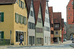 Dinkelsbuhl, Bavaria, Niemcy Fotografia Royalty Free