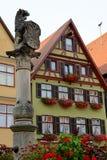 Dinkelsbuhl, Bavaria, Niemcy Obraz Stock