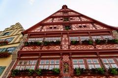 Dinkelsbuhl, Bavaria, Niemcy Zdjęcia Royalty Free
