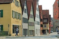 Dinkelsbuhl, Bavière, Allemagne Photographie stock libre de droits